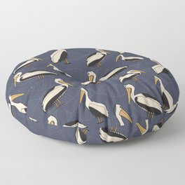 Pelicans blue Floor Pillow
