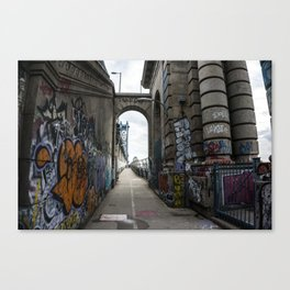 Art is not a Crime. Canvas Print