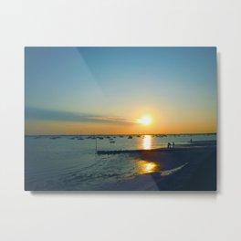 Andernos Sunset Metal Print