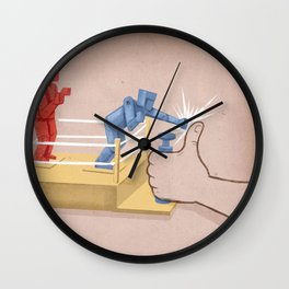 The Real Enemy Wall Clock