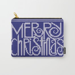 Merry Christmas from Snowman Carry-All Pouch