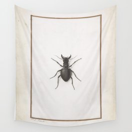 Pierre Joseph Redouté - A Stag Beetle Wall Tapestry