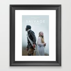 SALVAGE Poster Framed Art Print
