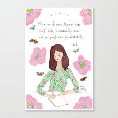 Do More - Zig Wisdom Inspiration Print #1 Canvas Print