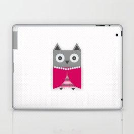 Pretty owl Laptop & iPad Skin