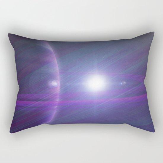 A world away Rectangular Pillow