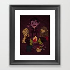 Horror Tales Framed Art Print