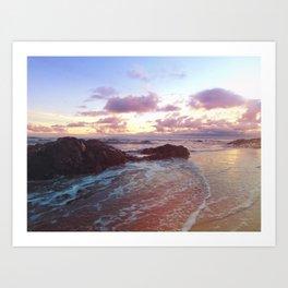 Beach Confection Art Print