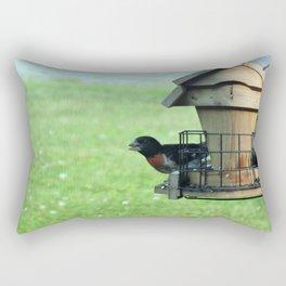 Bird is the Word Rectangular Pillow
