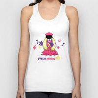 minaj Tank Tops featuring Jynxi Minaj  by The Art of Leena Cruz :)