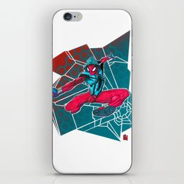 The Scarlet Spider iPhone Skin