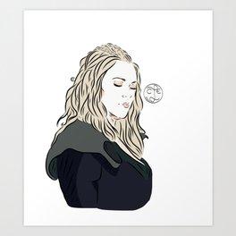 Clarke Griffin Art Print