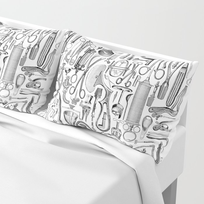 Medical Condition B&W Pillow Sham