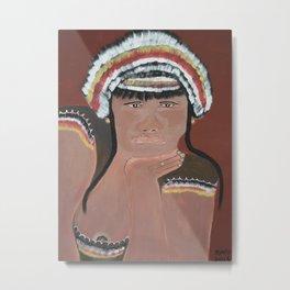 Tribal Women Metal Print