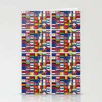 europe Stationery Cards featuring Europe/Europa by MehrFarbeimLeben