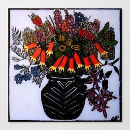 """Christmas Bells"" by Australian Artist Margaret Preston Canvas Print"