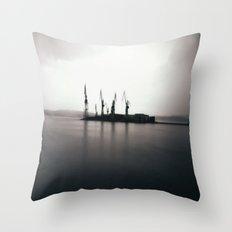 Steel Giants Throw Pillow