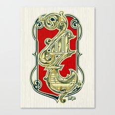 4117 Canvas Print