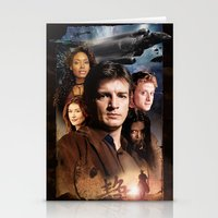 firefly Stationery Cards featuring Firefly by SB Art Productions