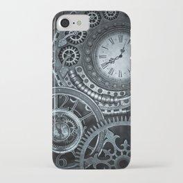 Silver Steampunk Clockwork iPhone Case