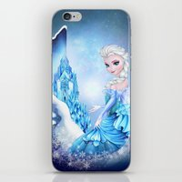 elsa iPhone & iPod Skins featuring ELSA by Annya Kai