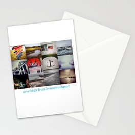 Greetings From Kennebunkport Stationery Cards