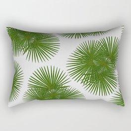 Fan Palm, Tropical Decor Rectangular Pillow