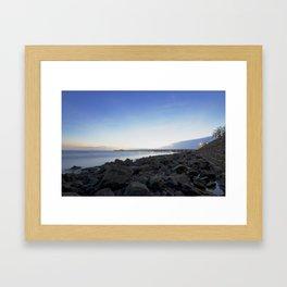Shorncliffe Foreshore -001 Framed Art Print