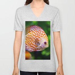 Discusfish Unisex V-Neck