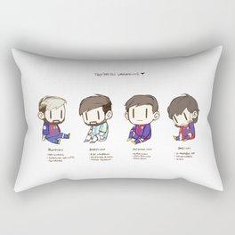 Tiny Messi, pack of 4 Rectangular Pillow