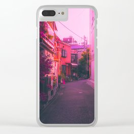 Daytime in Tokyo Clear iPhone Case