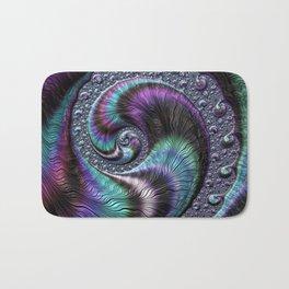 Fractal Art-Abalone Bath Mat