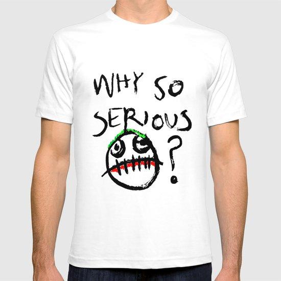 """""""Why So Serious?"""" joker T-shirt"""