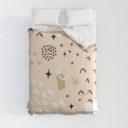 Modern Abstract Pattern. Comforters