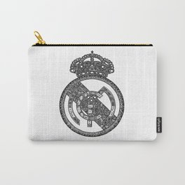 REAL MADRID LOGO DOODLE Carry-All Pouch