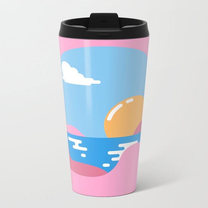 Our Sunset Metal Travel Mug