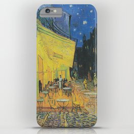 Cafe Terrace at Night by Vincent van Gogh iPhone Case