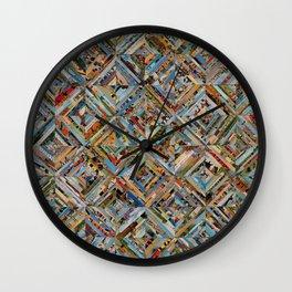 Texas Kaleidoscope Wall Clock