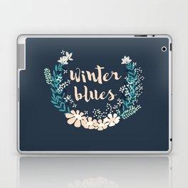 Winter Blues 004 Laptop & iPad Skin