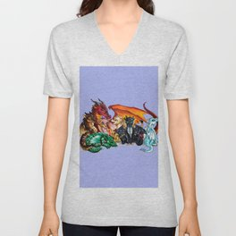 wings of fire Unisex V-Neck