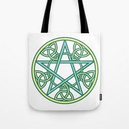 Celtic Pentacle Tote Bag