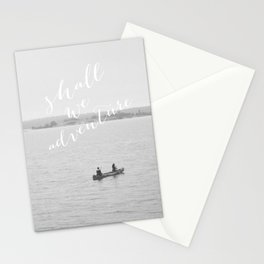 Shall We Adventure? Stationery Cards