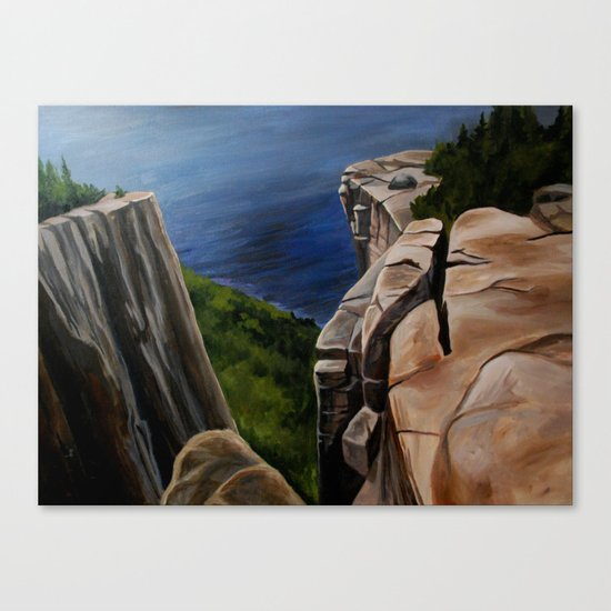 Top of the Giant  Canvas Print