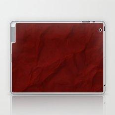 Red paper Laptop & iPad Skin