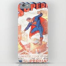 Superman Poster Slim Case iPhone 6s Plus