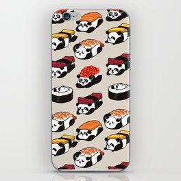 Sushi Panda iPhone Skin