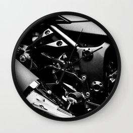 Kawasaki Ninja Motorcycle Wall Art V Wall Clock