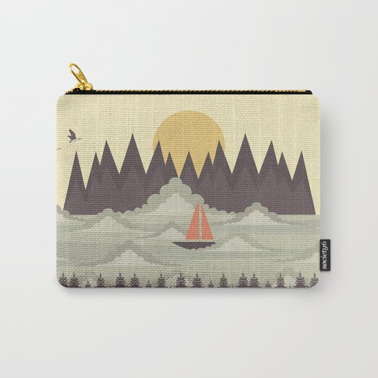 Over the Clouds Carry-All Pouch