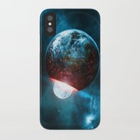 planet iPhone & iPod Cases featuring Planet by Floyd Triangle
