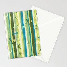 Woodland Stripe Stationery Cards